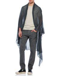Transit Uomo | Soft Knit Scarf | Lyst