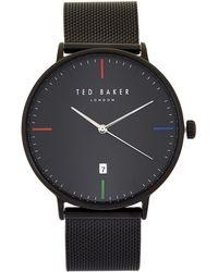 Ted Baker - Te50659002 Black Norton Watch - Lyst