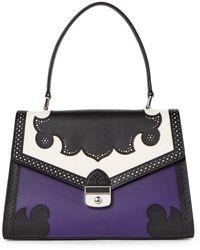 Longchamp - Amethyst Effrontee Top Handle Bag - Lyst