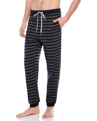 Kenneth Cole - Striped Pajama Pants - Lyst