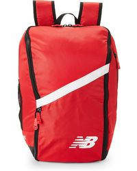 New Balance - Scarlet Team Ball Backpack - Lyst