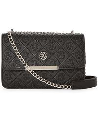 CXL by Christian Lacroix - Clemence Embossed Chain Crossbody - Lyst