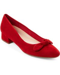 Easy Spirit - Calasee Suede Low Heel Dress Shoes - Lyst