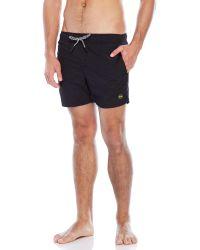 EFFEK - Pain Color Drawstring Swim Shorts - Lyst