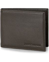James Campbell - Taupe Italian Leather Bifold Wallet - Lyst