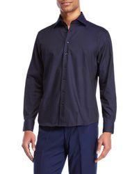 Tocco Toscano - Mini Dot Jacquard Sport Shirt - Lyst