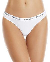 Calvin Klein - Two-pack Carousel Thong - Lyst