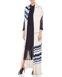 Laura Siegel - Open Sleeveless Knit Duster - Lyst