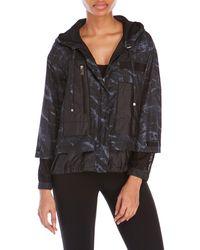 D'deMOO - Printed Hooded Jacket - Lyst