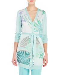 Leonard - Belize Silk Knit Cardigan - Lyst