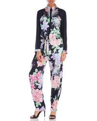 Leonard - Floral Jumpsuit - Lyst