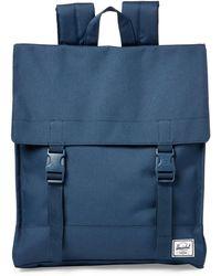 Herschel Supply Co. - Navy Survey Flap Backpack - Lyst