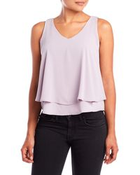 Tyche - Double-Layer Crepe Tank - Lyst