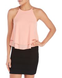 Tyche - Tiered Tank - Lyst