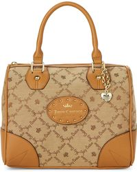 Juicy Couture - Tobacco Yours Truly Satchel - Lyst