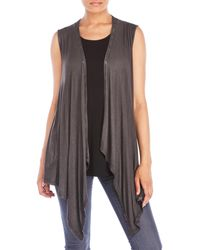 Cable & Gauge - Waterfall Vest - Lyst