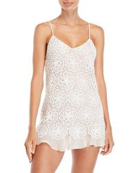 Rya Collection - Pretty Lace Chemise - Lyst