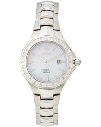 Seiko - Sut239 Silver-tone Watch - Lyst