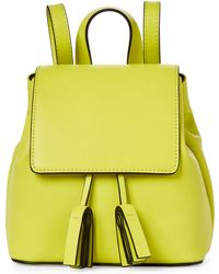French Connection - Dark Citron Vale Mini Backpack - Lyst
