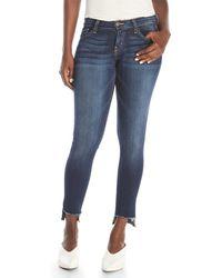 Flying Monkey - Frayed Skinny Jeans - Lyst