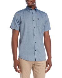 Ben Sherman - Dobby Printed Shirt - Lyst