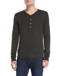 GAUDI - Pique Color Block Sweater - Lyst