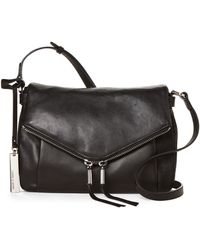 Vince Camuto - Alder Large Leather Crossbody - Lyst