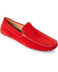 Zanzara - Red Picasso Suede Loafers - Lyst