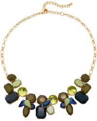 Catherine Stein - Blue & Olive Accented Necklace - Lyst