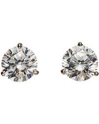 Fantasia Martini-Cut Rhinestone Stud Earrings ib7v9fPw