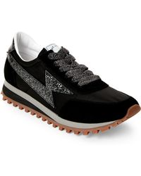 Marc Jacobs - Black Lightning Bolt Casual Sneakers - Lyst