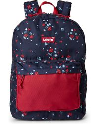 Levi's - Navy Lost Coast Floral Backpack - Lyst