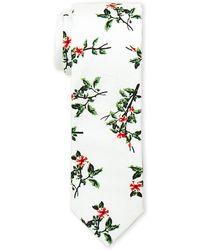 Original Penguin - Ivan Floral Slim Tie - Lyst