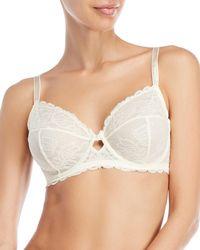 Calvin Klein - Seductive Comfort Lace Underwire Bra - Lyst