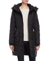 Pajar - Bryce Fur-trimmed Down Long Parka - Lyst