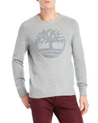 Timberland - Logo Pullover Sweater - Lyst
