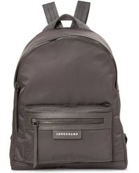 Longchamp - Grey Le Pliage Neo Small Backpack - Lyst