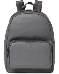 e01e467e54fb Lyst - Michael Kors Bryant Leather Backpack in Gray for Men