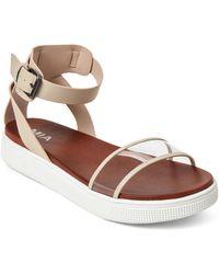 f4f6ba61caca MIA - Blush   Clear Ellen Platform Sandals - Lyst
