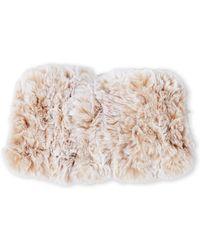 Surell - Real Pieced Fox Fur Headband - Lyst