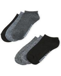 Steve Madden - 6-pack Logo Low-cut Socks - Lyst