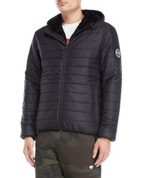 Iuter - Alan Faux Fur Lined Jacket - Lyst