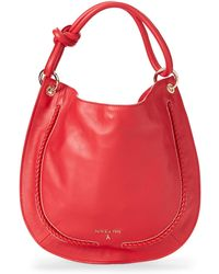 Patrizia Pepe - Knot Leather Hobo - Lyst