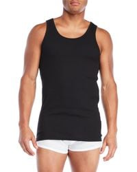 Tommy Hilfiger - 3-Pack Classic Ribbed Tank Tops - Lyst