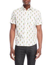 Kennington - Pineapple Sport Shirt - Lyst