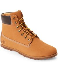 "Timberland - Wheat Joslin 6"" Lace-up Boots - Lyst"