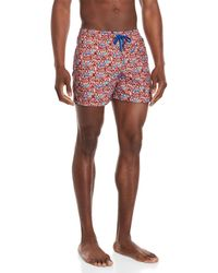 Luciano Barbera - Printed Drawstring Swim Shorts - Lyst