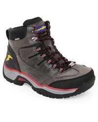 Goodyear - Grey & Black Bristol Steel Toe Work Boots - Lyst