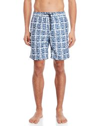 eab95b711c Surfside Supply - Batik Print Volley Swim Trunks - Lyst