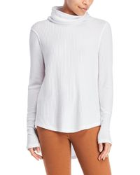 Sweet Romeo - Thermal Waffle Knit Top - Lyst